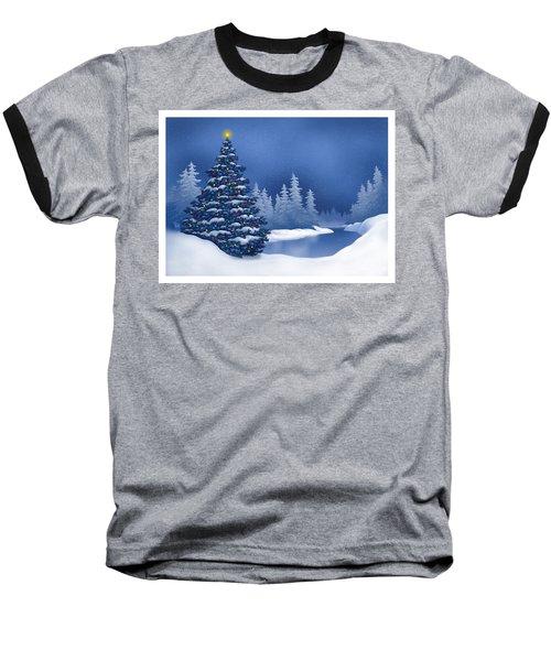 Icy Blue Baseball T-Shirt