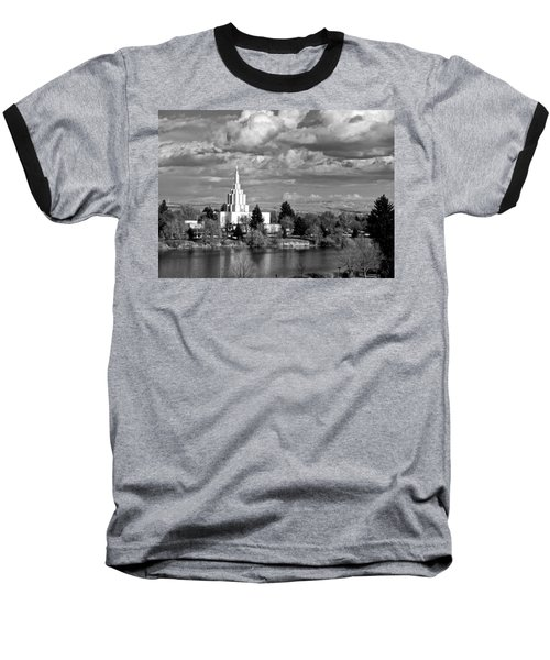Idaho Falls Temple Baseball T-Shirt