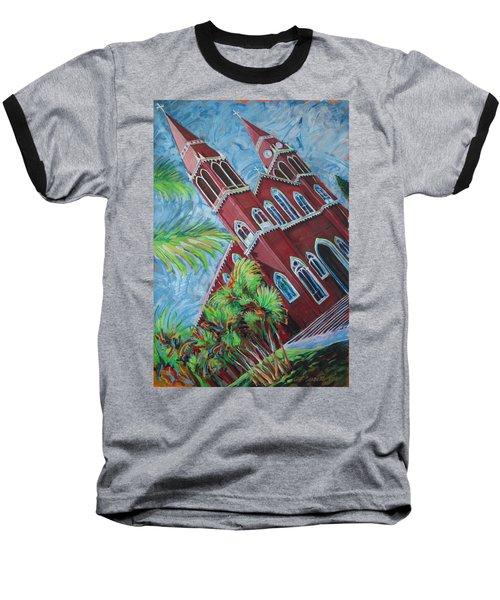 Iglesia Grecia  Costa Rica Baseball T-Shirt