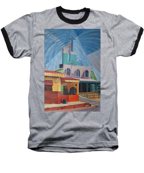 Iglesia San Rafael  Costa Rica Baseball T-Shirt