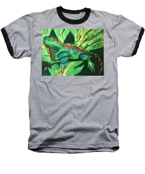 Iguana Baseball T-Shirt