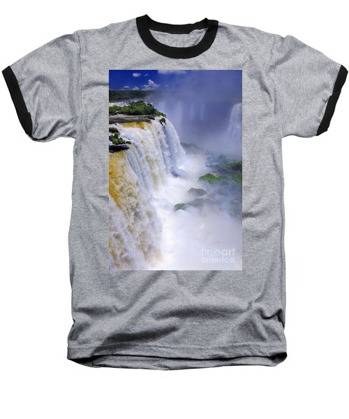 Iguazu Falls IIi Baseball T-Shirt