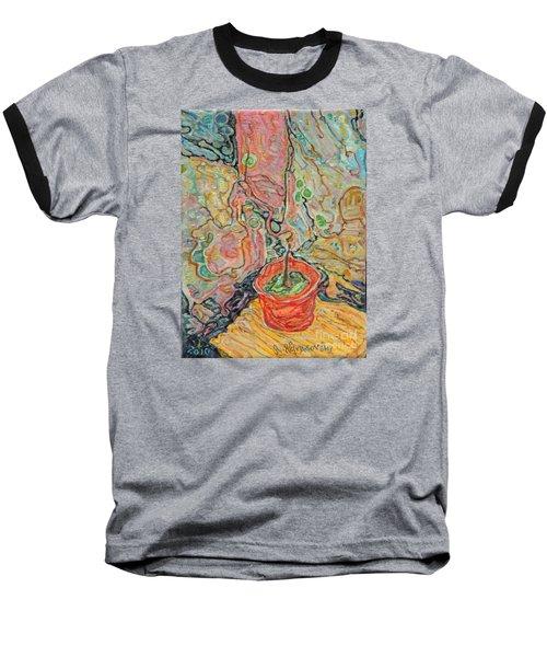 Ikebana Baseball T-Shirt by Anna Yurasovsky