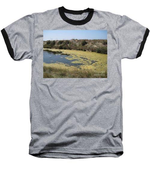 Ile De Re - Marshes Baseball T-Shirt by HEVi FineArt