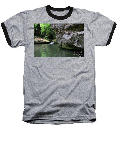 Baseball T-Shirt featuring the photograph Illinois Canyon May 2014 by Paula Guttilla