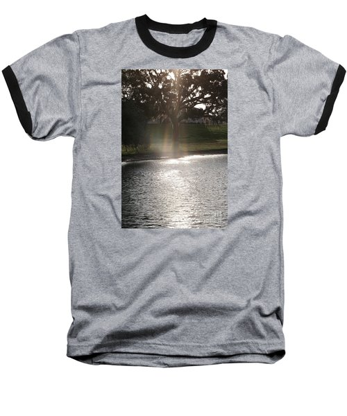Illuminated Tree Baseball T-Shirt