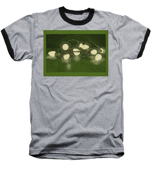 Illumination Variation #1 Baseball T-Shirt by Meg Shearer