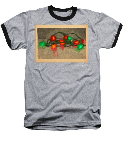 Illumination Variation #5 Baseball T-Shirt by Meg Shearer