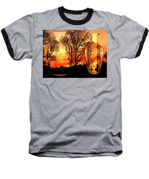 Baseball T-Shirt featuring the photograph Illusion by Joyce Dickens