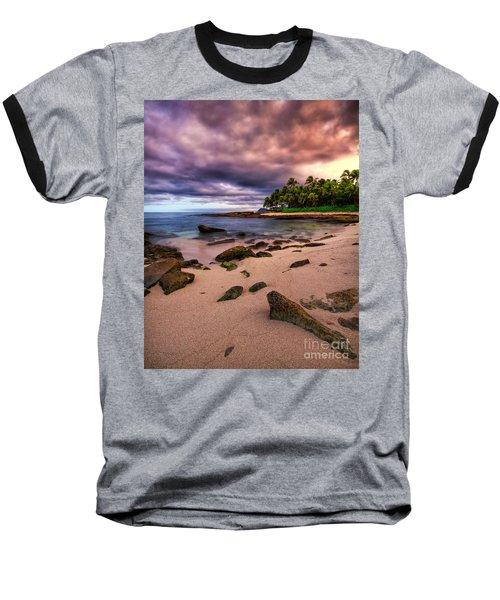 Iluminated Beach Baseball T-Shirt