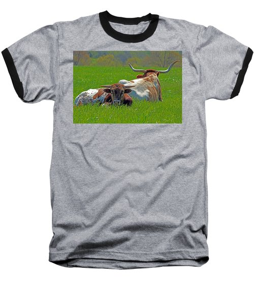 Baseball T-Shirt featuring the photograph I'm Just A Baby by Lynn Sprowl