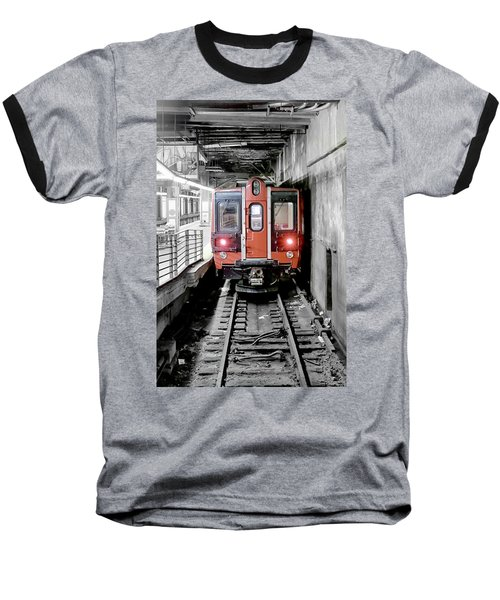 I'm Leaving On A Train Baseball T-Shirt