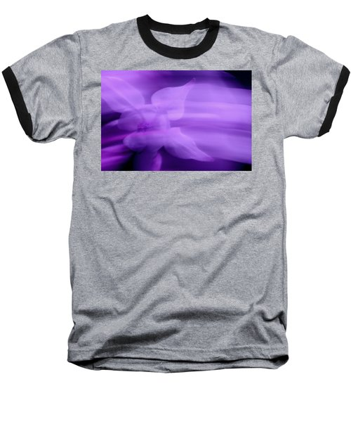 Imagination In Purple Baseball T-Shirt