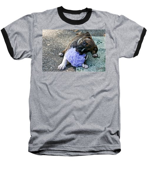 Imma Git U    Pit Bull Pup Baseball T-Shirt