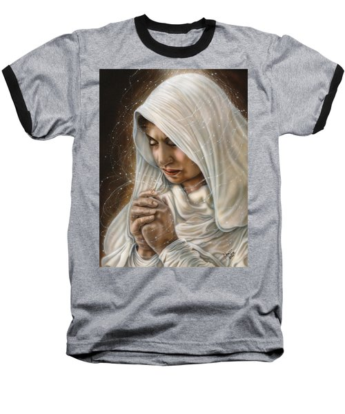 Immaculate Conception - Mothers Joy Baseball T-Shirt