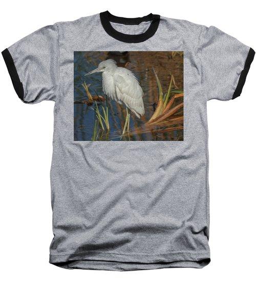 Immature Little Blue Heron Baseball T-Shirt