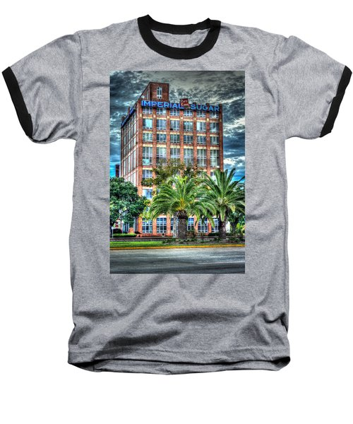 Imperial Sugar Factory Daytime Hdr Baseball T-Shirt