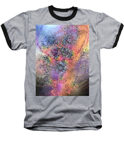 Baseball T-Shirt featuring the digital art Impressionist Dreams 2 by Casey Kotas