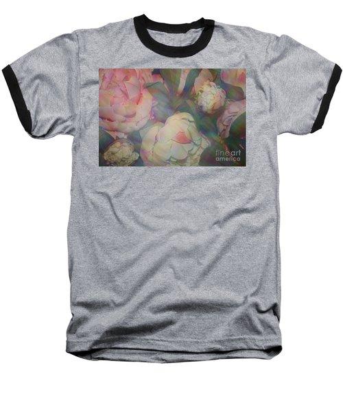 Baseball T-Shirt featuring the photograph Impressionistic Spring Bouquet by Dora Sofia Caputo Photographic Art and Design