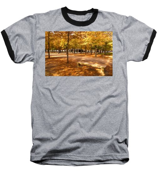 Impressions Of Paris - Tuileries Garden - Come Sit A Spell Baseball T-Shirt