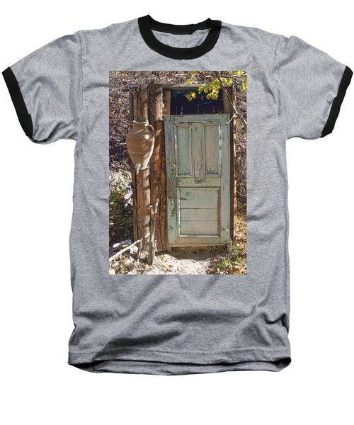 Improvised Outhouse Baseball T-Shirt