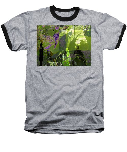 Baseball T-Shirt featuring the digital art In A Dream by Cathy Anderson
