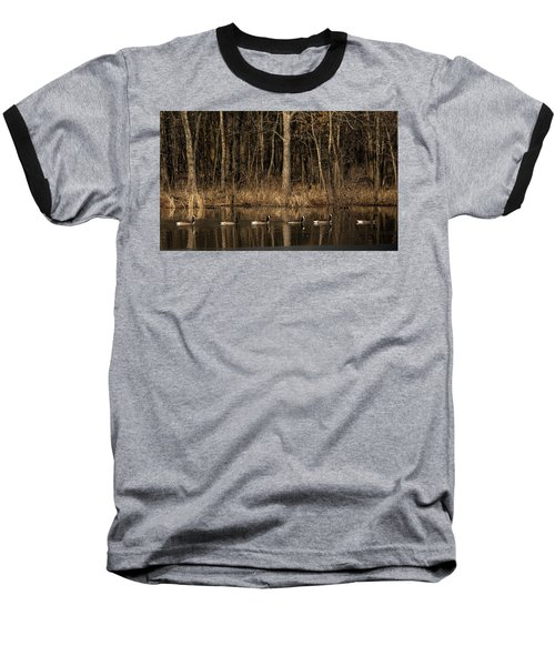 In A Row Baseball T-Shirt