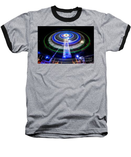 In A Spin Baseball T-Shirt