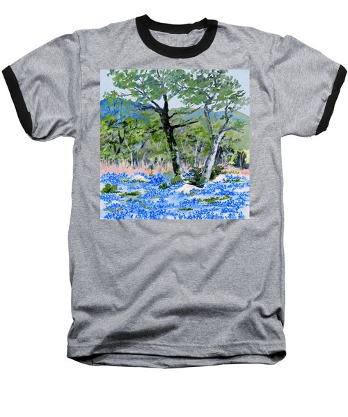 In April-texas Bluebonnets Baseball T-Shirt