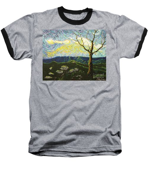In Between A Rock And A Heaven Place Baseball T-Shirt