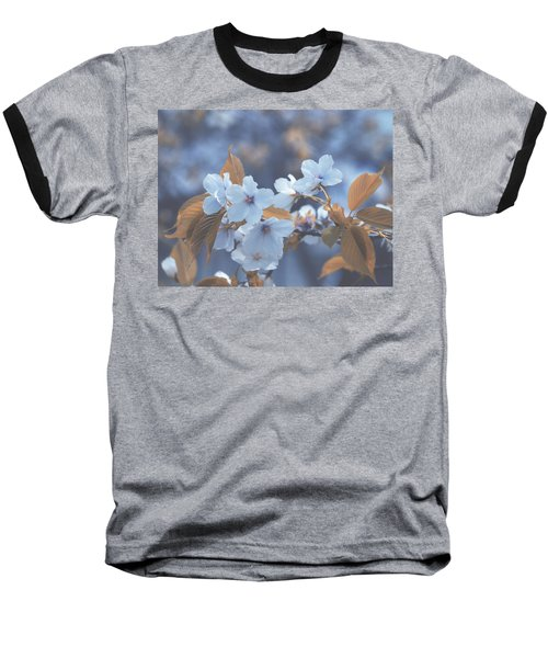 Baseball T-Shirt featuring the photograph In Blue by Rachel Mirror