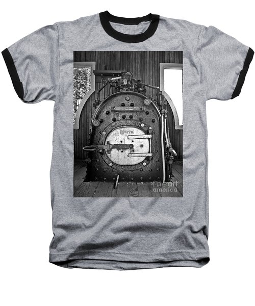 Baseball T-Shirt featuring the photograph In Control B by Sara  Raber