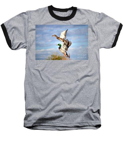 In-flight Baseball T-Shirt