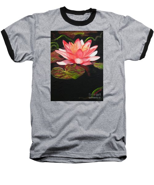 In Full Bloom Baseball T-Shirt by Janet McDonald