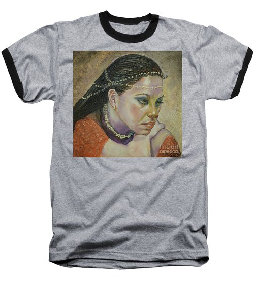 In Her Thoughts Baseball T-Shirt