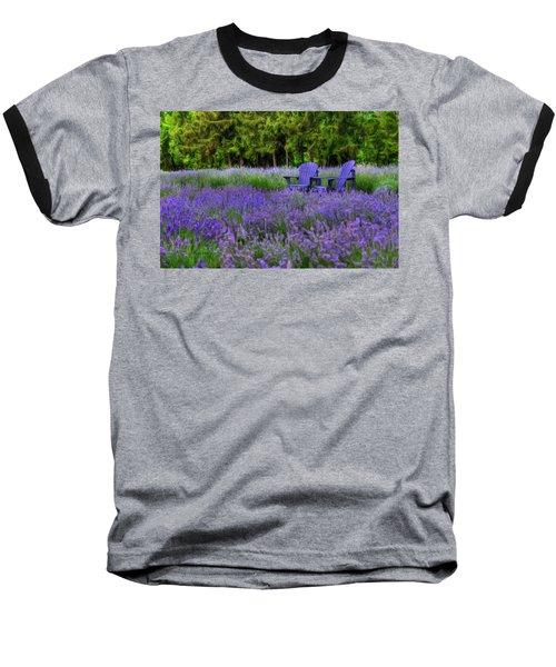 In Lavender Baseball T-Shirt