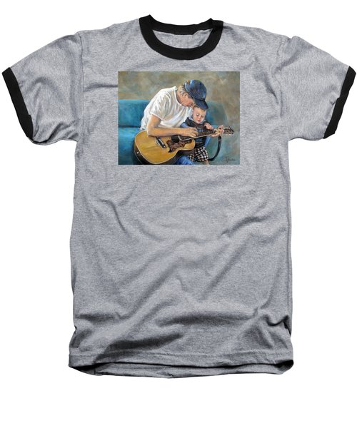 In Memory Of Baby Jordan Baseball T-Shirt by Donna Tucker