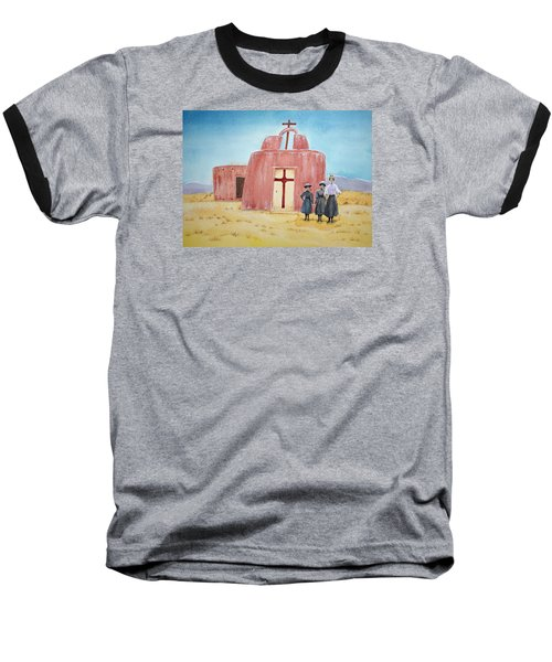 In Old New Mexico II Baseball T-Shirt by Michele Myers