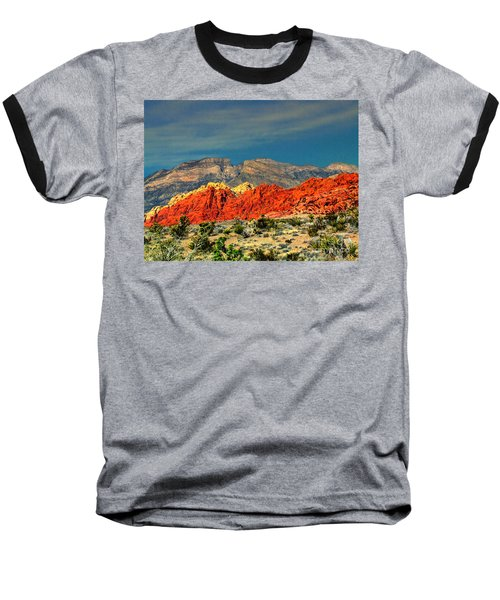 In Red Mountain 1 Baseball T-Shirt