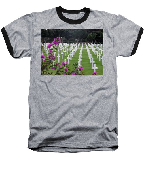 Baseball T-Shirt featuring the photograph In Rememberance by Lucinda Walter