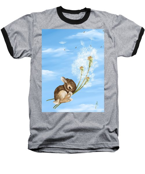 In The Air Baseball T-Shirt
