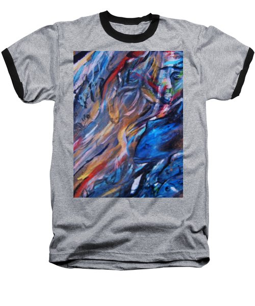 In The Blue Baseball T-Shirt