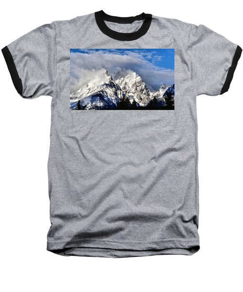 The Teton Range Baseball T-Shirt