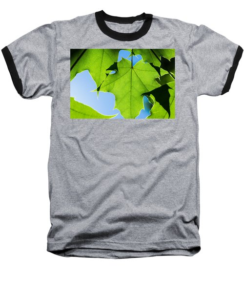 In The Cooling Shade - Featured 3 Baseball T-Shirt