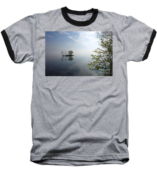In The Distance On Mille Lacs Lake In Garrison Minnesota Baseball T-Shirt
