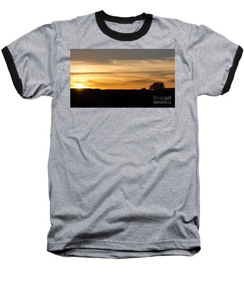 Baseball T-Shirt featuring the photograph In The Evening I Rest by CML Brown