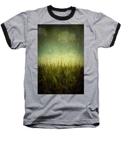 In The Field Baseball T-Shirt by Trish Mistric