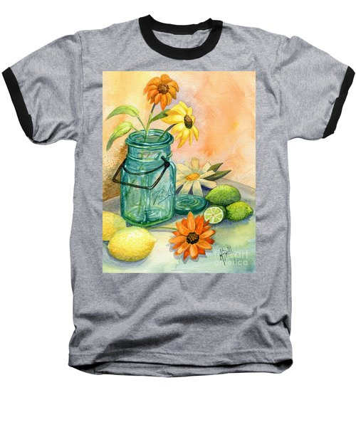 In The Lime Light Baseball T-Shirt by Marilyn Smith