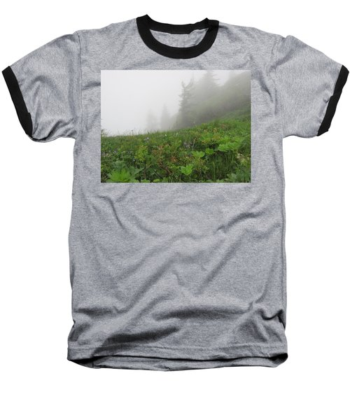 Baseball T-Shirt featuring the photograph In The Mist - 1 by Pema Hou