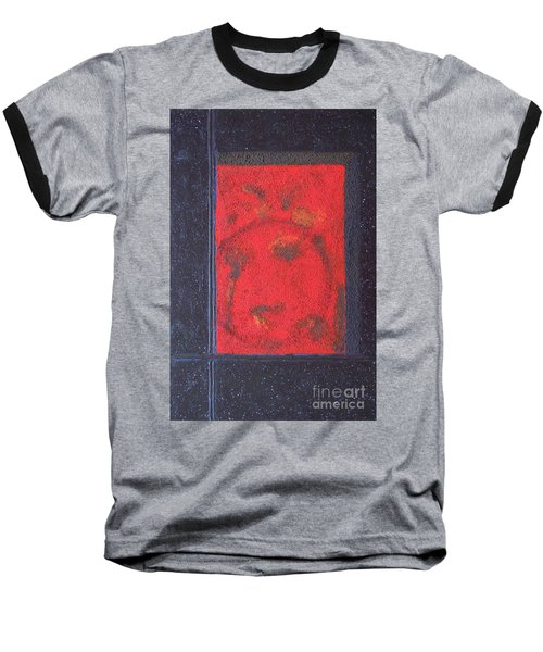 Baseball T-Shirt featuring the painting In The Night Sky by Mini Arora